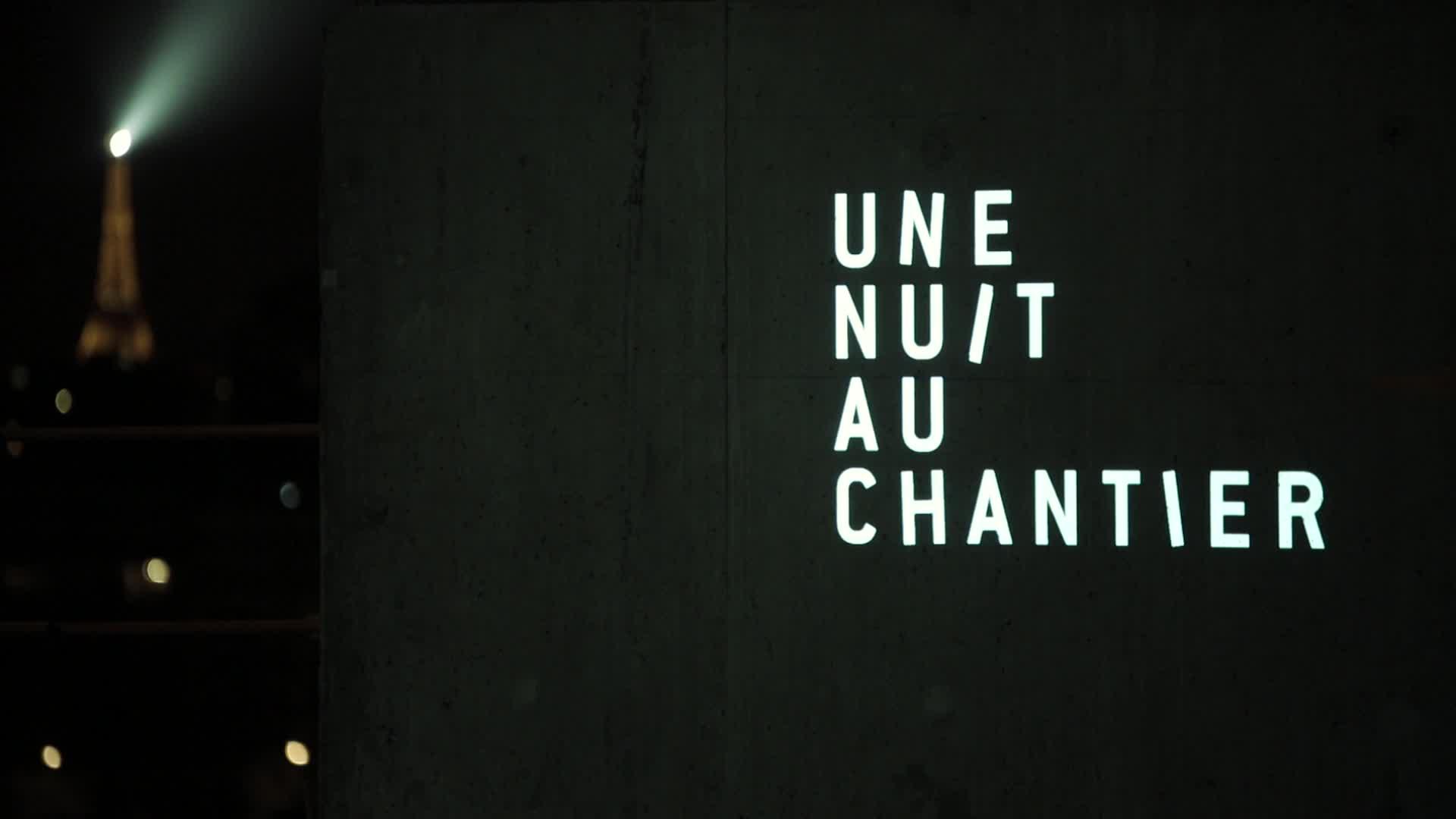 Orchestre de paris une nuit au chantier de la for Une nuit a paris