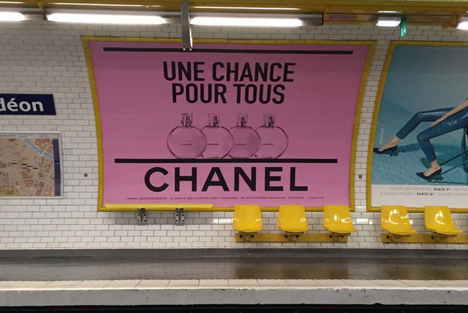 Chanel Fait Son Pop Art Coco Dans Le M 233 Tro Culture Pub